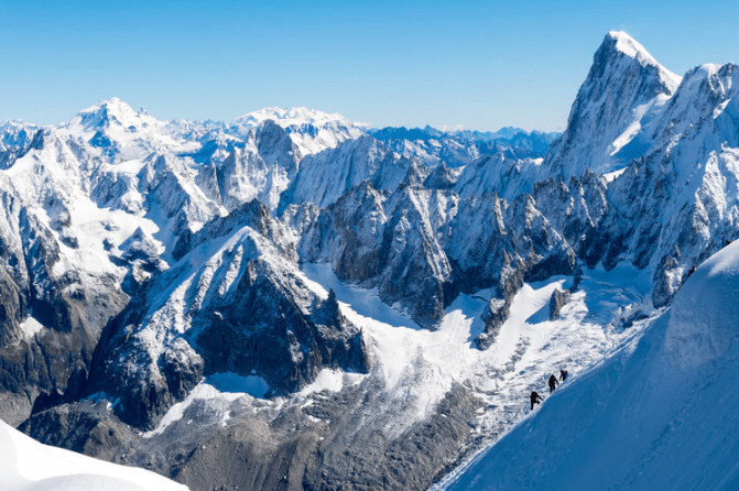 Mont Blanc, French Alps